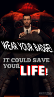 Repconn Motivational poster by guywiththesuitcase