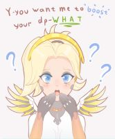 Mercy lmb main by Polkin