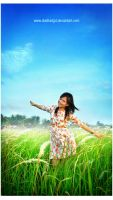 I Love the Blue of Indonesia by dudiksdjpt