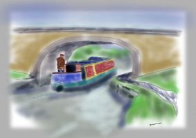 Quietly boating by Zero2G