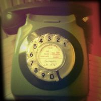 Holga Print 9 - 60s Telephone by uselessdesires