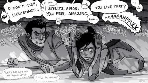 What's your gut telling you now, Korra? by frostious