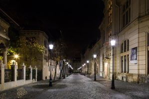 Strada Postei, Bucharest by Reiep