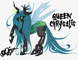 Queen Chrysalis by desideraht