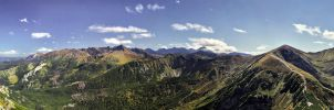 Giewont panorama by topperGfx