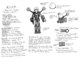 ADAM Character Notes by IrateResearchers
