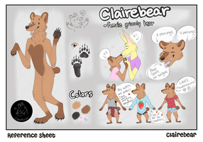 Reference Claire Bear by Straw-Bear
