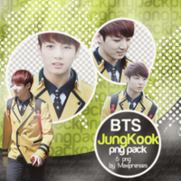 JungKook (BTS) PNG Pack by Maxiprenses