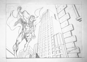Superman by sandrocosta