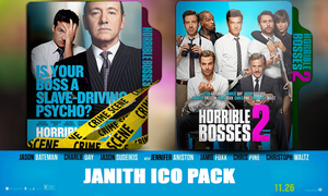Horrible bosses pack by JanithJayan
