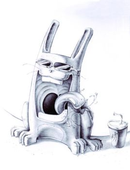 Crazy Rabbit by Keops7
