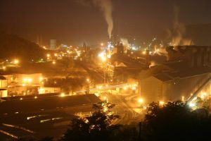 Weirton night view by DragonWolfACe