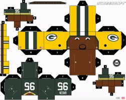 Howard Green Packers Cubee by etchings13