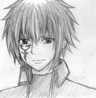 Jellal Sketch by moon095