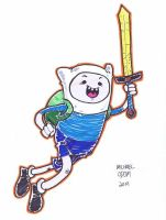 Finn by MichaelOdomArt