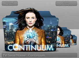 Continuum - Tv Series Folder Icon by atty12