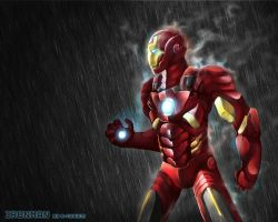 Ironman in the rain by R-nowong