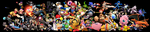 Super Smash Bros 4 collage by Blucaracal