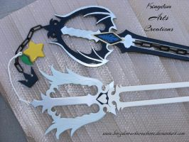 Oblivion Oath Keeper handles by KingdomArtsCreations