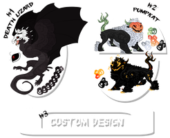 Halloween Theme Adopts - CLOSED by Vholkrum