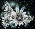 flowers - ultra fractal by SvitakovaEva