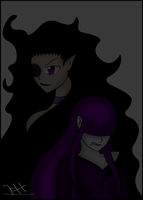 AT: The Shadow Demon and The Night Demon by xXThe-Ice-ReaperXx