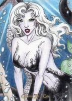 Grimm Fairy Tales - Ursula the Sea Witch by DenaeFrazierStudios