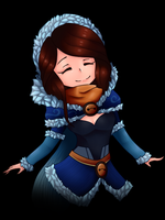 Dota 2 Mirana - Snowstorm Huntress set :) by 38250968