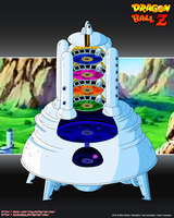 Babidi's Spaceship SMB by Seiya-Dbz-Fan