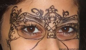 Venetian Mask Basic Lines by Bella-Eugenia