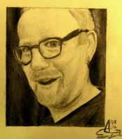 Mythbuster Adam Savage by AtomykTickTock