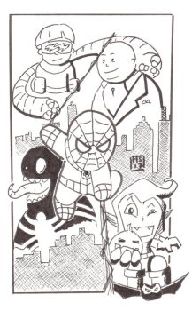 spiderman by moutonshield