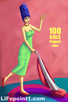100 GIRLS Project 004 by lifepoint1