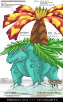 Pokedex 003 - Venusaur FR by Pokemon-FR