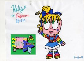 Totally Awesome 80's Party - Rainbow Kally (Org.) by PrincessKatieForever