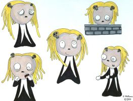 Many Faces of Lenore - 3 by 12jack12