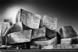 The Walt Disney Concert Hall, Downtown LA #2 by Durdenyr
