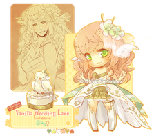 :NEMU: Vanilla Wedding Cake Turtledove [CLOSED] by Chuuchichu