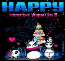 Happy International Women's day!!! by vancamelot
