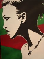 Keira Knightly Stencil 1 by straight-thugin