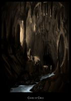 Caves of Circe by highdarktemplar