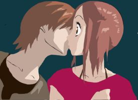 Kiss by inusessy