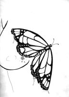 Butterfly Tattoo Design 2 by WesternWitch
