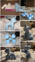 Poseable Trixie: WIP by Ahlsi
