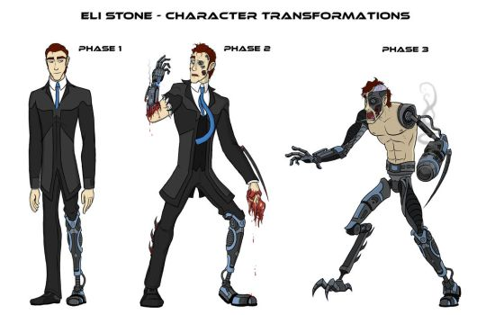 'Eli Stone' Phases 1-3 Concept Art by captainslam