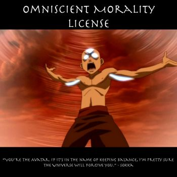 Omniscient Morality License by SaucePear
