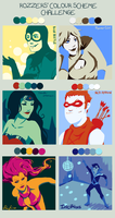 Colours Meme - DC by tacokisses