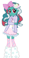 commission for TheRosePrince EQG Fizzy by SugarMoonPonyArtist