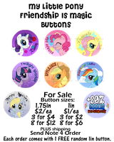 MLP_FiM_Buttons by wanabiEPICdesigns