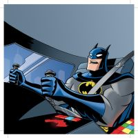BATMAN:RAC Inside Batmobile by LostonWallace